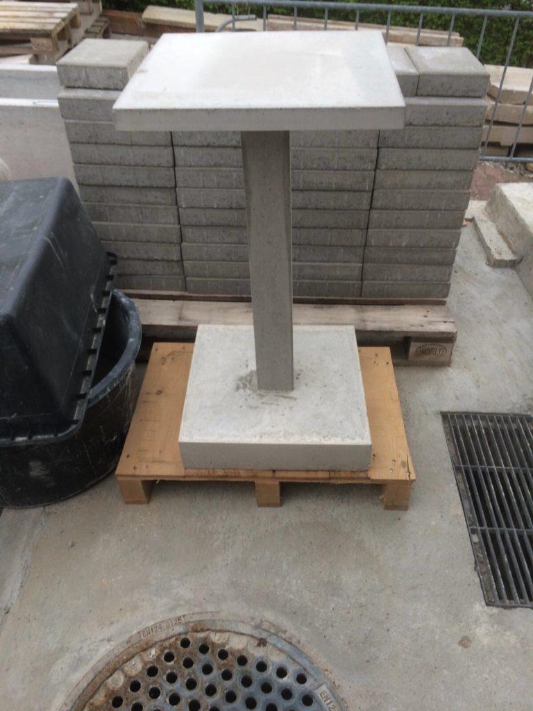 verkaufte werke an ihrem neuen ort kreatives aus beton. Black Bedroom Furniture Sets. Home Design Ideas
